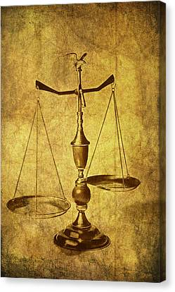 Scales Canvas Print - Vintage Scale by Tom Mc Nemar
