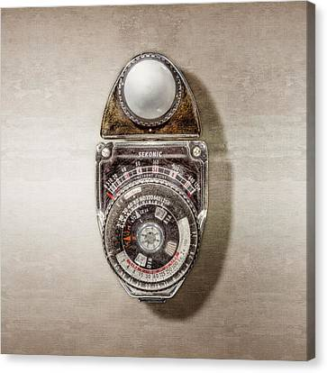 Vintage Sekonic Deluxe Light Meter Canvas Print
