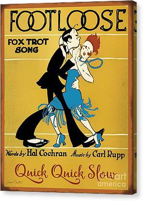 Vintage Sheet Music Covers-jp3502 Canvas Print
