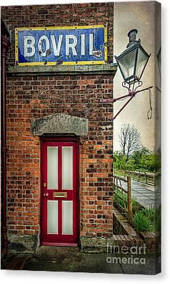 Vintage Sign Canvas Print by Adrian Evans