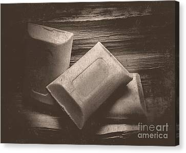 Vintage Soap Canvas Print by Jorgo Photography - Wall Art Gallery
