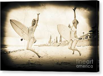 Vintage Sport Photograph Canvas Print by Jorgo Photography - Wall Art Gallery
