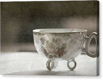 Vintage Teacup Canvas Print