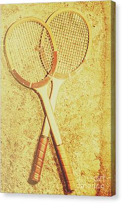 Racquet Canvas Print - Vintage Tennis Racquets by Jorgo Photography - Wall Art Gallery