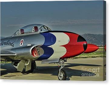 Vintage Thunderbird Canvas Print