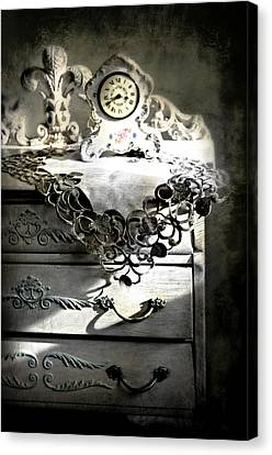 Canvas Print featuring the photograph Vintage Time by Diana Angstadt