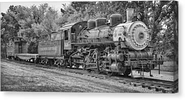 Vintage Train Canvas Print by Brian Mollenkopf