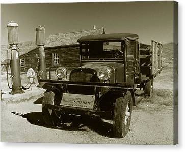 Old Truck 1927 - Vintage Photo Art Print Canvas Print by Art America Gallery Peter Potter