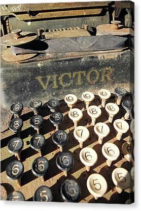 Vintage Victor Canvas Print by Scott Kingery