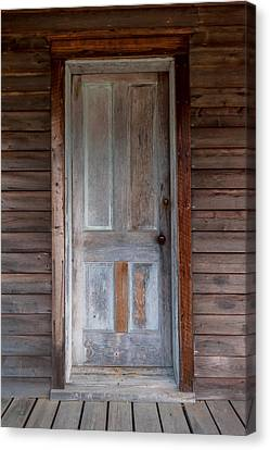 Vintage Wood Door  Canvas Print