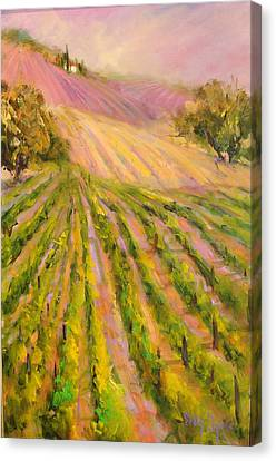 Vintners Delight Canvas Print by Sally Seago