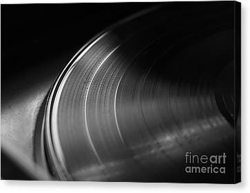 Vinyl Record And Turntable Canvas Print