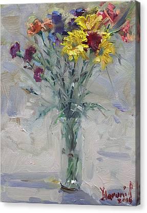 Viola's Flowers Canvas Print by Ylli Haruni