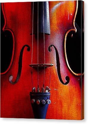 Canvas Print featuring the photograph Violin # 2 by Jim Mathis