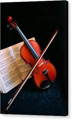 Violin Canvas Print by Kristin Elmquist