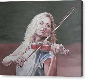 Violin Solo Canvas Print