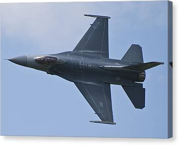 Viper West F16 Demo Team Canvas Print