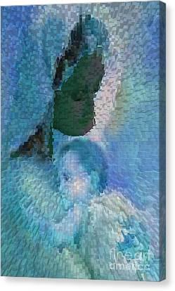 Orishas Canvas Print - Virgen De Regla Joven by Liz Loz