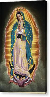 Virgen Canvas Print by Kasper Castillo