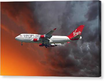 Virgin Atlantic Canvas Print