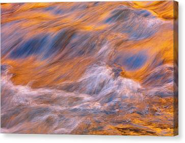 Canvas Print featuring the photograph Virgin River Voodoo by Mike Lang