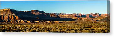 Virgin Utah Below The Guardian Angels Canvas Print by TL Mair