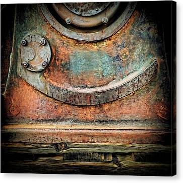 Canvas Print featuring the photograph Virginia City Rust by Steve Siri