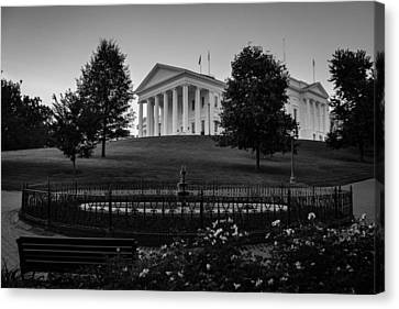 Virginia State Capitol Canvas Print
