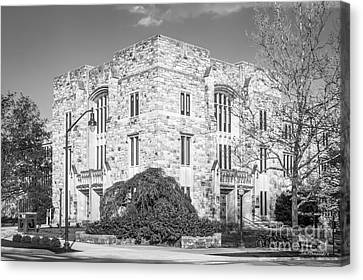 Virginia Tech Newman Library Canvas Print by University Icons