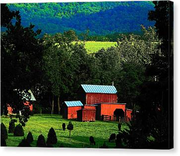 Virginia Valley View Canvas Print