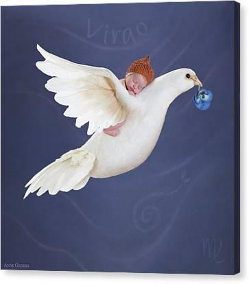 Virgo Canvas Print by Anne Geddes