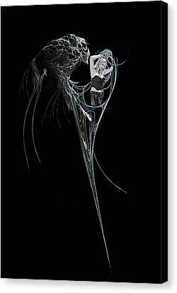 Virgo Canvas Print by Viktor Savchenko