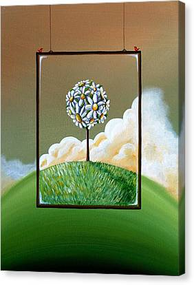 Virtue Canvas Print by Cindy Thornton