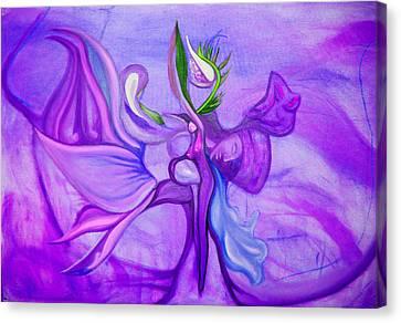Virtue Of Women Canvas Print by MandyCka Johnson