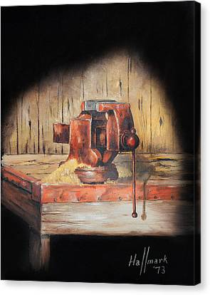 Vise Canvas Print