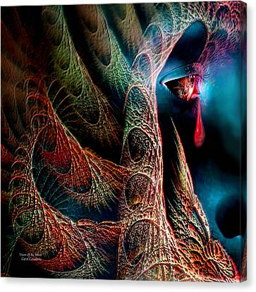 Vision Of An Artist Canvas Print by Carol Cavalaris
