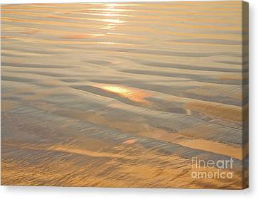 Canvas Print - Vision Of Gold by Julia Hiebaum