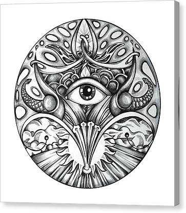 Vision Canvas Print by Shadia Derbyshire