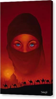 Vision Canvas Print by Tim Dangaran