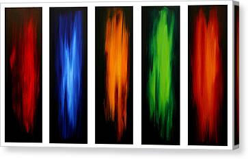 Visionary By Madart Canvas Print by Megan Duncanson