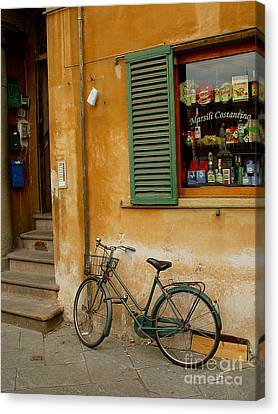 Canvas Print featuring the photograph Visions Of Italy 4 by Nancy Bradley