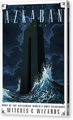 Visit Azkaban Canvas Print by Christopher Ables