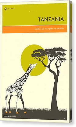 Visit Tanzania Canvas Print