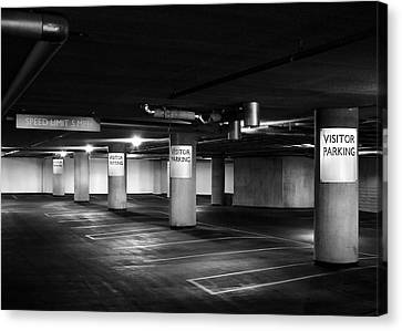 Visitor Parking Canvas Print by Todd Klassy