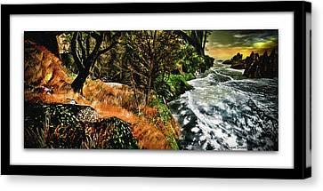 Vista World Canvas Print by Monroe Snook