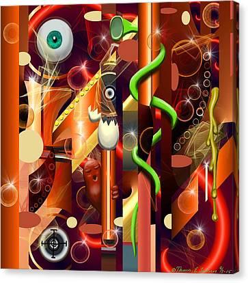 Visual Jazz Canvas Print