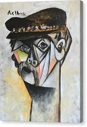 Vitae The Old Man  Canvas Print by Mark M Mellon