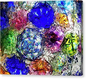 Vitreous Flora Canvas Print by Gary Holmes