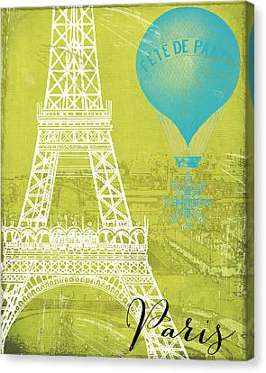 Viva La Paris Canvas Print by Mindy Sommers
