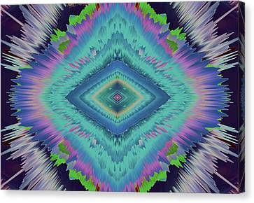 Canvas Print featuring the photograph Exponential Flare 2 by Colleen Taylor